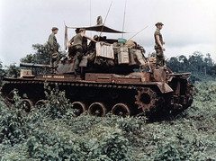 Vietnam War, M48 Patton.