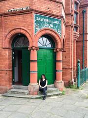 Salford Lads Club (katdeem) Tags: england manchester morrissey thesmiths johnnymarr 2015 salfordladsclub