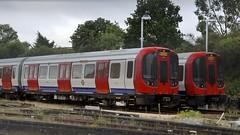 Wylie_Tube Strike Thursday 2 (ianwyliephoto) Tags: train august londonunderground districtline tfl transportforlondon 2015 aslef tubestrike ealingcommondepot
