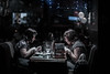 dinner (Edo Zollo) Tags: streetphotography london londonatnight londonafterdark londonstreetphotography lowlight londonpastbedtime inthedarkofnight