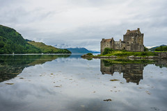 Symmetry (akibamir9) Tags: eilean donan castle loch scotland uk travel symmetry history architecture medieval