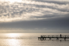 Dock (Infomastern) Tags: smygehamn brygga cloud coast dock hav kust sea sky östersjön