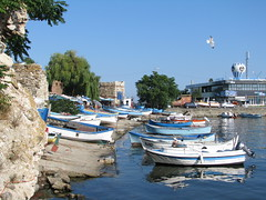 Nesebar - Black Sea (Been Around) Tags: img1473 blacksea blackseacoast niceshot nothingbutthebest onlyyourbestshots worldtrekker travellers thisphotorocks travel schwarzesmeer bulgaria bulgarien bul bulgarianblackseacoast europe eu europa expressyourselfaward europeanunion urlaub holiday nesebar nessebar fishingboats chernomore черноморе българия