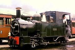 381tl (davidroyball1) Tags: welshpoolandllanfairlightrailway theearl railways steamlocomotive steamengine 35mm minoltasrt101 kodakkodachrome25 wales steam narrowgauge