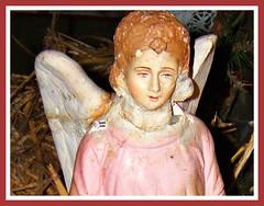 Visage d'ange (MAPNANCY) Tags: ange visage ailes crèche sourire douceur