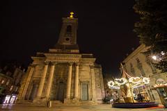 Semaine 15 : église St-Pierre et carrousel (sgreusard) Tags: besancon night architecture église carrousel winter p52 projet52