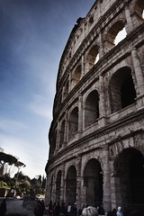 Colosseum (abdalmajeedTM) Tags: travel europe photography nikon vacation winter edit travilling traviling photographier colorful black white wanderlust places love 2017 january february rome roma italy italia colosseum coliceum fontana de trevi vatican museum jesus bible nature forever alone