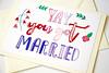 Yay you got married handmade greeting card-8 (roisin.grace) Tags: greetingcards greetingcard handpainted handmade handmadecards handpaintedcards etsy etsyseller etsyshop etsyhandmade etsyfinds lovecards valentinesday valentines valentinescard marriagecard justmarried marriagecards