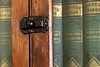 """003/365 A Dickens of a Latch (ruthlesscrab) Tags: wah """"we'rehere"""" hereios """"366the2017edition"""" 3662017 """"day3365"""" 3jan17 latch cabinet book dickens"""