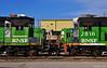 "BNSF Locomotives in Kansas City, MO (""Righteous"" Grant G.) Tags: bnsf railway railroad locomotive train trains emd burlington northern bn up union pacific engine kansas city missouri"