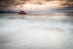 Sunset (Marc ALMECIJA) Tags: 182010 sunset coucher soleil long pose exposure water mer eau wasser sea océan atlantique bilbao