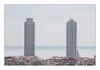 Barcelona - September 2010 (Francesco Giusto) Tags: barcellona buildings sea skyscrapers