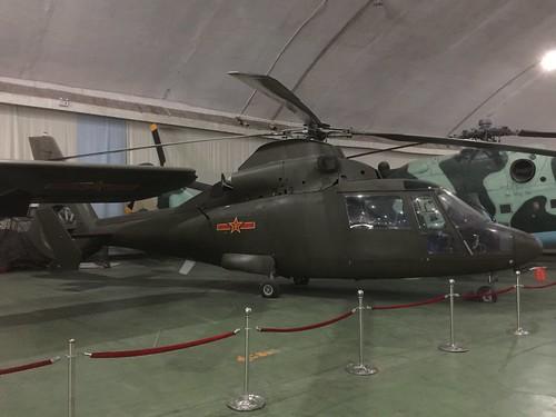 China no marks Harbin Z-9 Haitun, China Aviation Museum, Chinese, Xiaotangshan 30th October 2016
