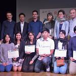 Remise des prix au World Film Festival of Bangkok avec son dispositif Animation du Monde pour les Rendez-vous franco-thaï de l'animation thumbnail