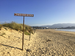 2016-10-08 18 27 23b (Pepe Fernández) Tags: playa playaamérica panxón nigrán paseo tarde octubre