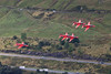 Red Arrows Transit, LFA17, 9/2016 (TheSpur8) Tags: aircraft date hawk lakedistrict trainers 2016 skarbinski landlocked tebay uk lowlevel special military t1 redarrows display anationality places transport