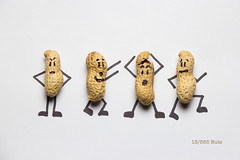 13/365 Nuts (under_exp0sed) Tags: 365 3652017 monkeynuts creative creativefood cartoon food