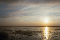 no water (flyerkat_L.E.) Tags: nordsee sunset water film analog nikon fm2 fujisuperia400 35mm