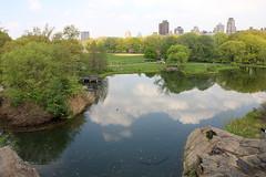 Turtle Pond (misseka) Tags: usa newyork centralpark manhattan turtlepond reflectiononthewater