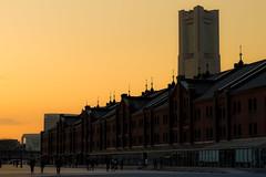 Yokohama Kanagawa Japan (Mototaka Tsujima) Tags: japan yokohama 夕暮れ 横浜 倉庫 zf2 赤煉瓦 planart1485