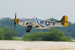 North American P-51D Mustang (Nate Burrows Photography) Tags: aviation wwii airshow warbirds warbird rockford aerobatics p51 p51mustang airfest northamerican rockfordillinois rockfordil northamericanaviation northamericanp51mustang rockfordairfest warbirdheritagefoundation p51babyduck