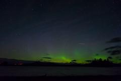 Distant Lights (el_sharC) Tags: camping light usa mountain lake night trek lens lights hiking sony maine aurora kit mm northern a7 borealis auroras 2870 ilce7