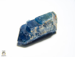 Blue Apatite 001 (Daniel Barbutti) Tags: mineral geology apatite phanzer