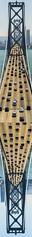 western span mirror (pbo31) Tags: sanfrancisco california bridge summer panorama color june collage mirror nikon traffic over large panoramic baybridge 80 stitched d800 yerbabuenaisland 2015 boury pbo31