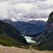 A Look Back Down a Glacial Valley (Banff National Park)