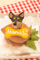 Your dog figure cake (INUGOHAN_WORLD) Tags: food dog art cooking dogs cake recipe healthy poodle foodart toypoodle dogcake cakeclass dogsweets dogrecipe figurecake dogrecipes