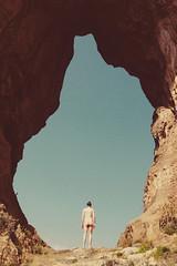 (hipermania) Tags: portrait man nature nude landscape outdoor dusk canyon human pure