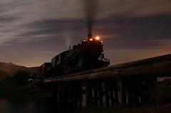 HEBER VALLEY (dayvmac) Tags: heber valley utah train steamlocomotive nightphotography timeexposure locomotive railway railroad touristrailway heritagerailway