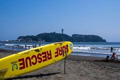 2015 Summer #1 (Yorkey&Rin) Tags: summer people japan july bluesky olympus enoshima  kanagawa  rin  2015     fujisama em5  katasebeach lumixg20f17 pc236680