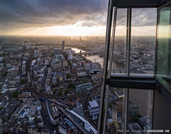 Waterloo Sunset from The Shard | London (zzapback) Tags: city uk sunset panorama london eye thames skyscraper river nikon cityscape view unitedkingdom capital piano londoneye waterloo bttower shard bt londen d810 theshard zzapback shardview