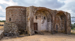 Ruins of So Cucufate: Back Door Temporarily Front Door (AdSR on Flickr) Tags: panorama ancient roman lightroom cugat cucufate cucufas