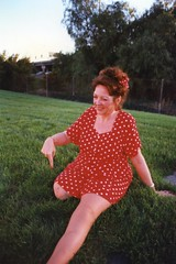 amp-837 (vsmrn) Tags: woman smile stump crutches amputee onelegged