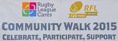 The Sign (KeithJustKeith) Tags: charity red manchester canal cares community education rugby walk side devils annmarie salford rangers league rfl humphreys 2015 rlcares