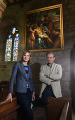 Fake or Fortune, Fiona Bruce and Philip mould filming at St John's, Tunstall, Lancashire (blackburndiocese) Tags: camera venice art church parish worship lancashire christian blackburn organ nave bbc font bible venetian christianity filming renaissance pulpit chancel praise oldmaster oldmasters bronte arthistory cameraman archdeacon investigation cofe tunstall organist titian churchofengland veronese tintoretto deanery blackburndiocese churchwarden brontecountry montemezzano fionabruce bbcpresenter dioceseofblackburn michaeleveritt deaneries philipmould fakeorfortune bishopofblackburn thechurchofenglandinlancashire archdeaconoflancaster francescomontemezzano revmarkcannon janegreenhalgh philipmouldandcompany wwwphilipmouldcom