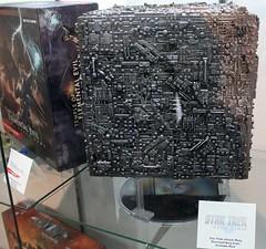 2015-Star Trek Attack Wing Borg Cube Game Pieces at SDCC-01 (David Cummings62) Tags: california ca startrek game photo sandiego photos borg calif comiccon con startrekthenextgeneration cummings tvseries sttng borgcube davidcummings davecummings attackwing