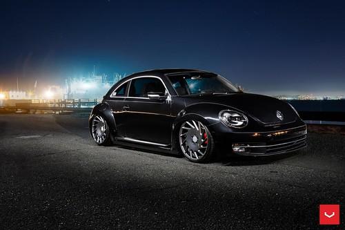 Volkswagen Beetle on Vossen