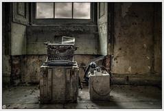 Typewriter (ducatidave60) Tags: abandoned fuji decay fujifilm dereliction fujinonxf14mm28r fujixt1