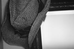 Cowboy hat. (Sergio Vassio) Tags: bw hat nikon cowboy manual hay f28 ai d3 135mm