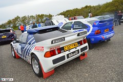 Ford RS200+Ford Escort RS Cosworth irvine 2015 (seifracing) Tags: road cruise rescue car europe cops rally transport police rover vehicles van ayr emergency polizei spotting irvine services policia recovery polizia ecosse 2015 seifracing