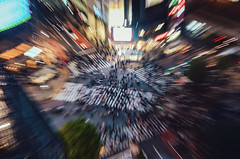 Shibuya Scramble Crossing (Brendan Ó Sé) Tags: tokyo tokyoatnight shibuya shibuyascramblecrossing shibuyaatnight shibuyapedestrians japan streetphotography fineartphotography brendanósé brendanóséphotography brendanósétokyo blur blurwillsavetheworld