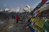 Sunset at ABC (RAKH AKHR) Tags: abc annapurna annapurnabasecamp annapurnabasecamptrek annapurnasouth himalayas nepal sunset mountain
