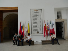 In memory of the victims that were killed during the terrorist attacks at Bardo Museum.
