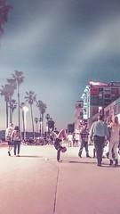 Yoga on the Venice Boardwalk - by Alex Beattie (Alex Beattie) Tags: beachlife nikon colorgrading nightphotography yoga southerncalifornia california alexbeattie venicebeachboardwalk