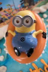 Bob (Bucky-D) Tags: fz1000 birthday 7thbirthday cake minions keegan 7 macro
