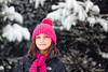 (Rebecca812) Tags: girl child snowing snow winter hat scarf coat northface sweet innocent tween childhood outdoors lookingup cute portrait canon rebecca812