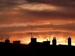 2016-12-08 sunrise (31)roofs (april-mo) Tags: roofs chimneys contrejour sunrise leverdesoleil toits cheminées nord france